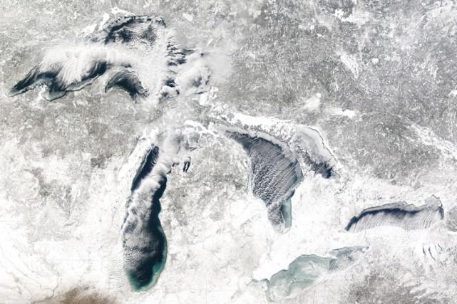 Une image de la NASA montre les Grands... (ARCHIVES AFP)