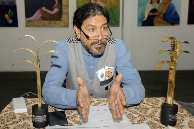 Ahmed AlMulla, directeur du festival du cinéma qui... (PHOTO AFP)