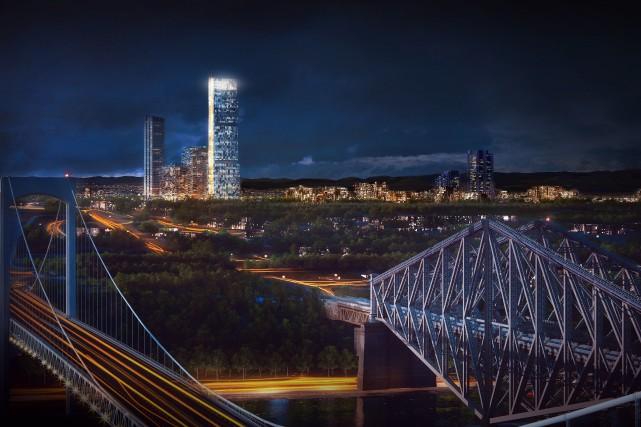 Pour l'architecte Mario Jobin, le projet d'ensemble immobilier... (Groupe Dallaire)