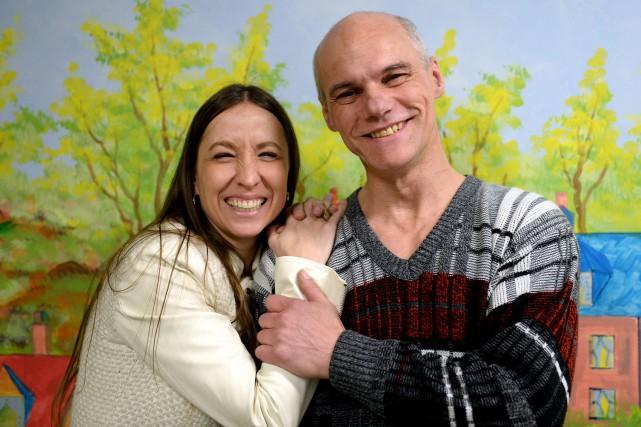 La directrice générale du Relais d'Espérance, Barbara Michel,... (Le Soleil, Erick Labbé)