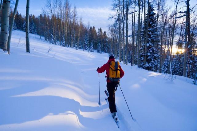 La randonnée alpine est désormais officiellement permise à... (tirée de Facebook Mont Orford)