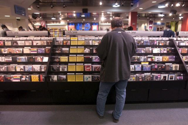 La famille de l'entreprise de distribution de disques... (Archives, La Presse)