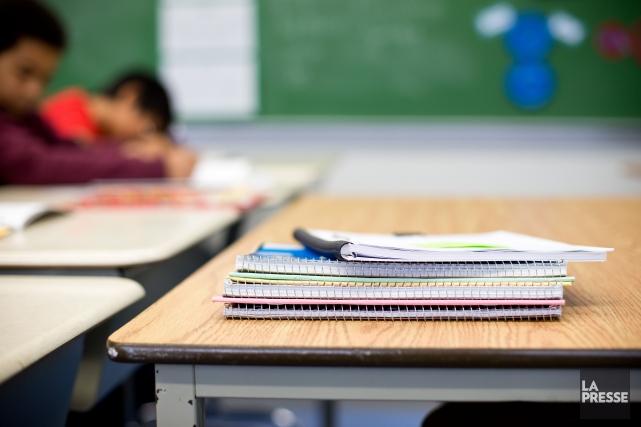 Les écoles sont fermées mercredi dans de nombreuses villes du Québec. À... (Archives, La Presse)