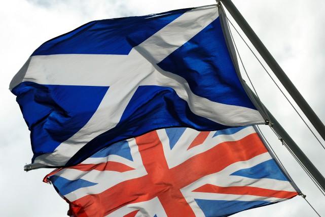 Une majorité d'Écossais s'opposent à l'indépendance de leur province, selon un... (PHOTO  ANDY BUCHANAN, AFP)