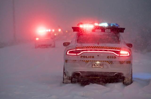 La tempête hivernale de mardi n'a pas épargné... (Spectre Média, Jessica Garneau)