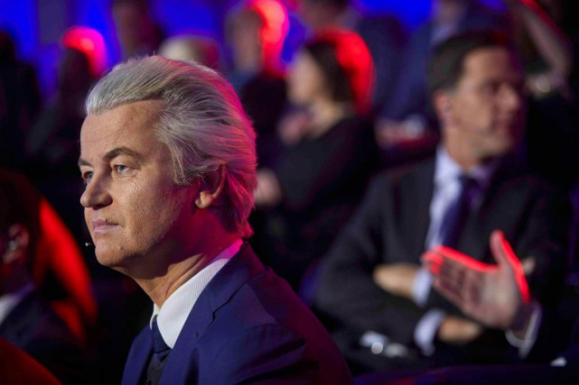 Geert Wilders, chef du Parti pour la liberté,... (Photo Phil Nijhuis, Reuters)