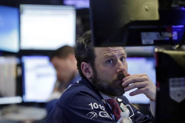 «Les investisseurs se disent que la Fed va... (AP)