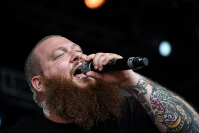 Le rappeur américain Action Bronson... (Photo SEBASTIEN BOZON, Archives Agence France-Presse)