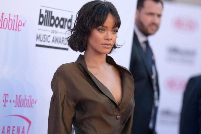 Rihanna... (Photo Richard Shotwell, Archives Associated Press)