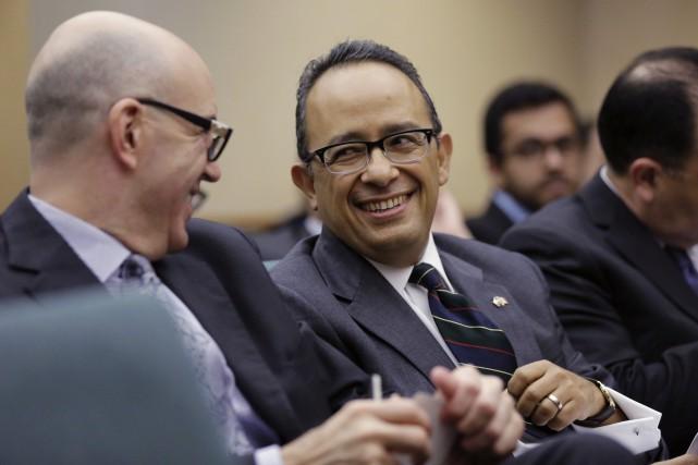 Carlos Gonzales Gutiérrez croit qu'il est dans l'intérêt... (Photo Eric Gay, archives AP)