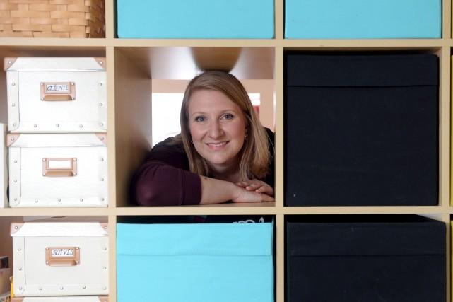 Marie-Sophie Berruex, spécialiste du désencombrement, invoque ses gènes... (Le Soleil, Erick Labbé)