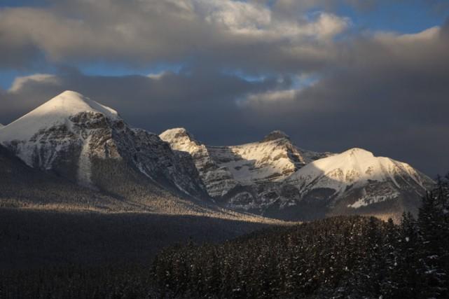 Une vue duparc national Banff.... (ARCHIVES REUTERS)