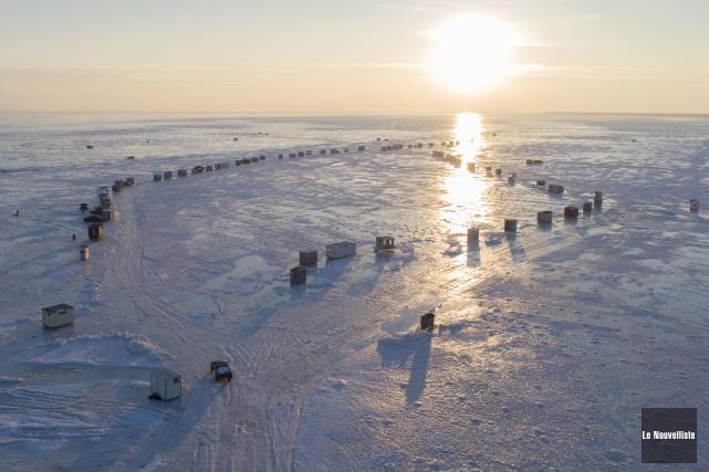 La santé du lac Saint-Pierre inquiète.... (Stéphane Lessard, Le Nouvelliste)