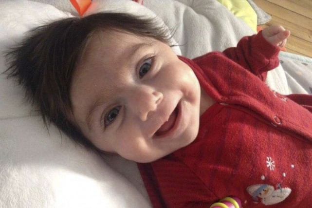 La petite Marianne Briand souffre du syndrome de... (Catherine Castilloux-Maldemay)