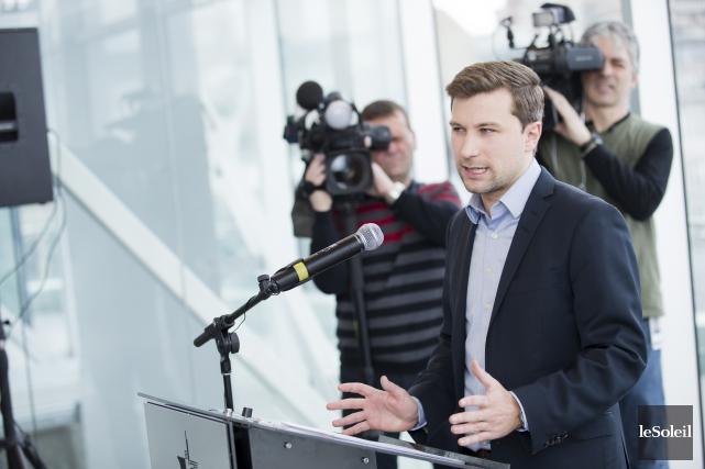 Gabriel Nadeau-Dubois briguera l'investiture de Québec solidaire dans... (Photothèque Le Soleil)