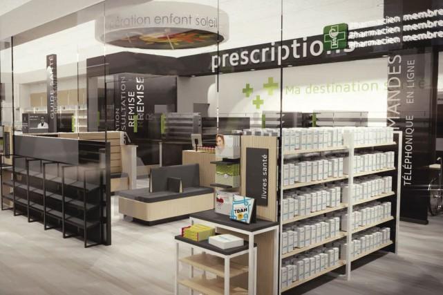 Pour ses pharmacies, Familiprix mise sur un coup... (fournie par Familiprix)