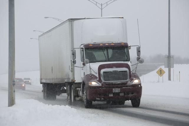 Les camionneurs payés en fonction de la distance... (Spectre Média, René Marquis)