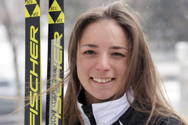 Frédérique Vézina espère un top30 dans l'une ou... (Le Soleil, Jean-Marie Villeneuve)