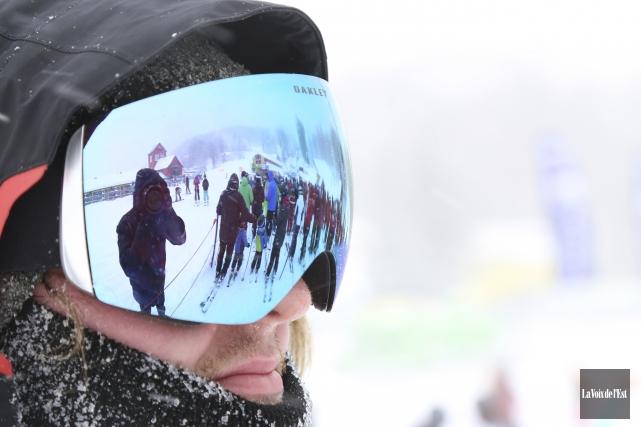 Les pistes de ski de Bromont, montagne d'expériences... (Janick Marois, La Voix de l'Est)
