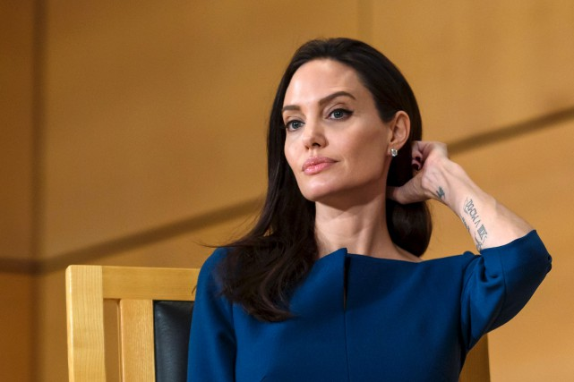 Angelia Jolie fera la promotion de First They... (PHOTO ARCHIVES AFP)