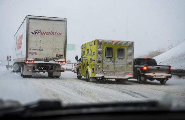 La situation dans les urgences de la région était loin d'être catastrophique au... (Spectre Média, Jessica Garneau)