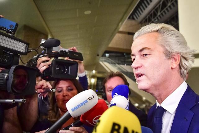 Même si le Parti pour la Liberté de... (PHOTO Robin Utrecht, Archives AFP)