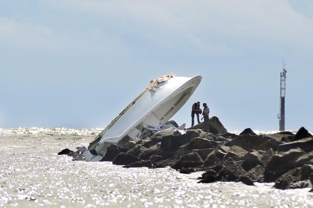 Le bateau de 32 pieds de Jose Fernandez... (Photo Gaston De Cardenas, archives AP)
