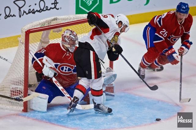 Le Canadien et les Sénateurs s'affronteront dans un... (Photo André Pichette, archives La Presse)