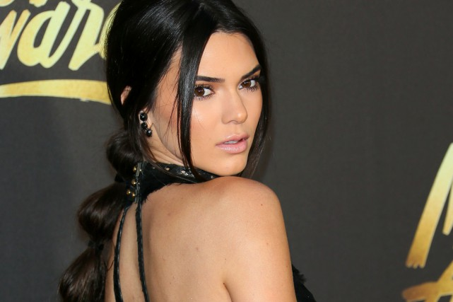 Kendall Jenner, demi-soeur de Kim Kardashian.... (PHOTO ARCHIVES AFP)