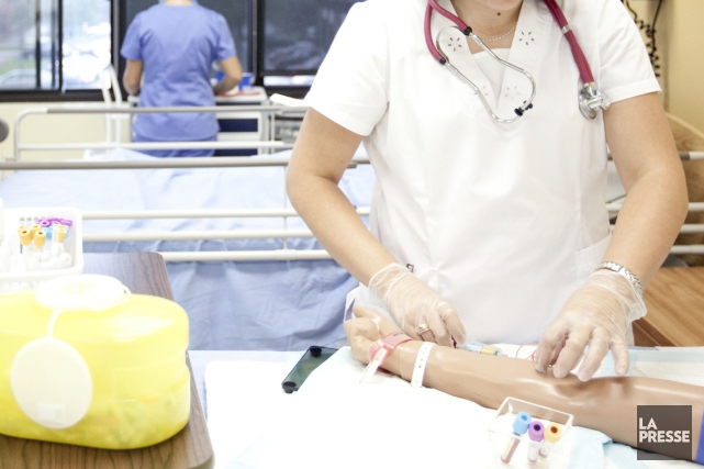 Les 5000 infirmières, infirmières auxiliaires et inhalothérapeutes du... (Archives La Presse)