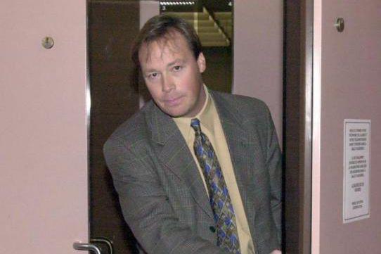 Benoît Roberge, ex-enquêteur vedette du SPVM, en 2000.... (Photo Armand Trottier, archives La Presse)