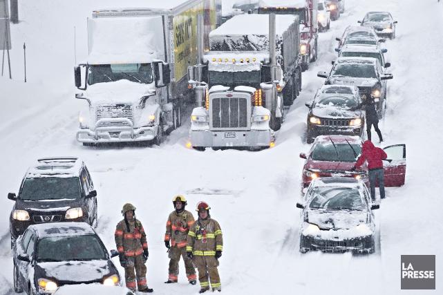 Montréal est passé bien près d'une véritable catastrophe... (La Presse, Patrick Sanfaçon)