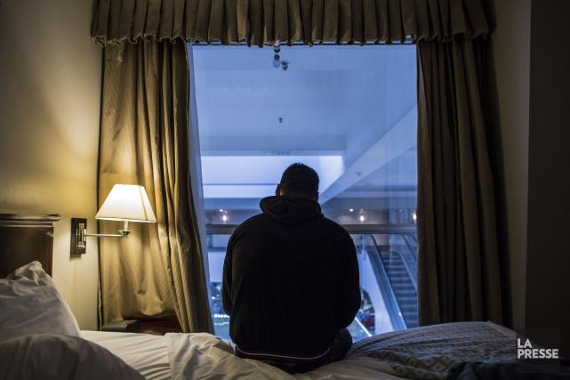 Plus d'un an après leur arrivée au Canada, plusieurs réfugiés syriens éprouvent... (PHOTO EDOUARD PLANTE-FRÉCHETTE, LA PRESSE)