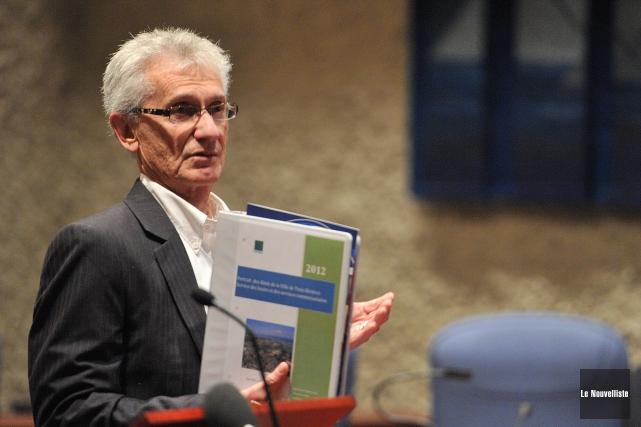 Denis Simard... (Stéphane Lessard, Le Nouvelliste)