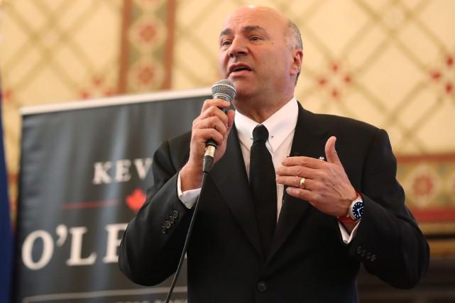 Le candidat à la direction du Parti conservateur... (Photo Lars Hagberg, La Presse canadienne)