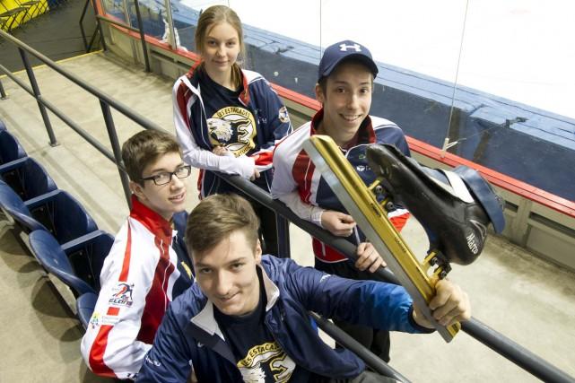Les patineurs des Élans ont l'occasion de briller... (Sylvain Mayer, Le Nouvelliste)