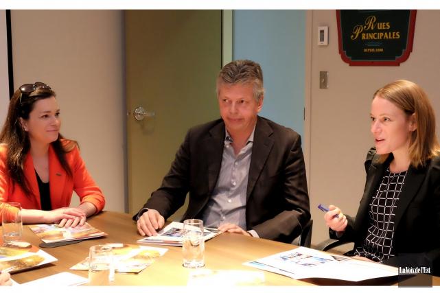 Sylvain Gervais, directeur général de Commerce et tourisme... (Alain Dion, La Voix de l'Est)