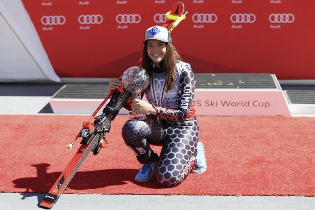 Tina Weirather est devenue la première enfant d'un... (AFP, Ezra Shaw)