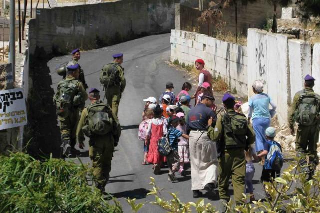 Le documentaire Les colons sur l'occupation israélienne en... (Fournie par Filmoption International)