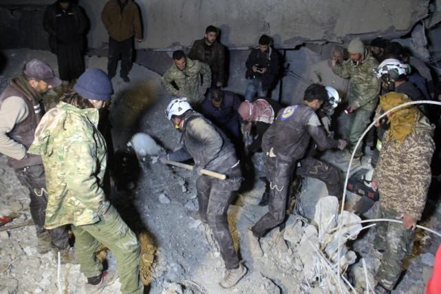 Selon l'Observatoire syrien des droits de l'Homme (OSDH),... (AFP)