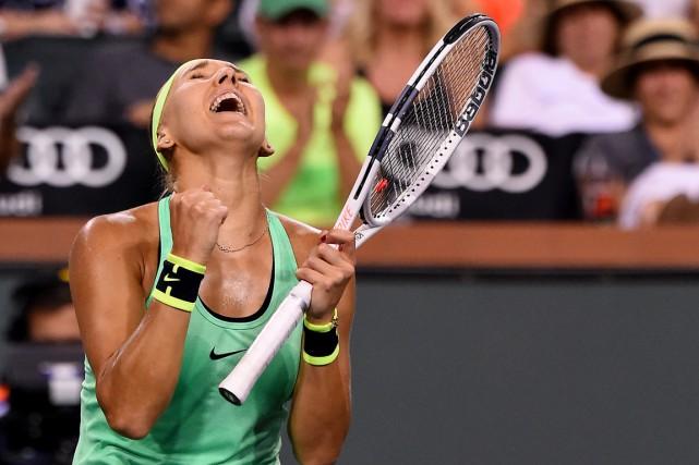 Elena Vesnina aatteint les demi-finales de l'Omnium BNP... (Photo Jayne Kamin-Oncea, USA Today)