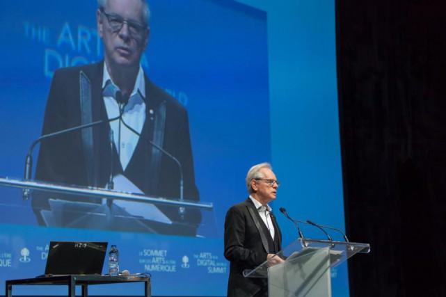 Le directeur duConseil des arts du Canada, Simon... (Photo fournie par Pure Perception)
