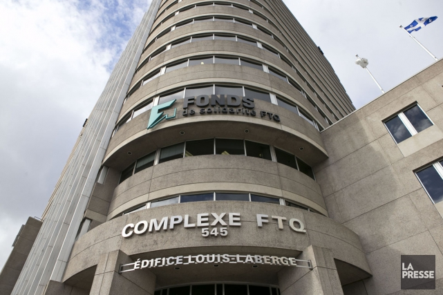 L'édifice de la FTQ à Montréal... (PHOTO HUGO-SÉBASTIEN AUBERT, ARCHIVES LA PRESSE)
