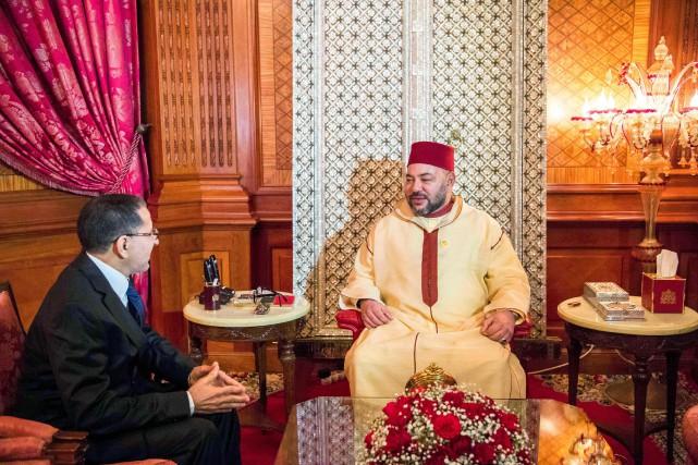 Le roi du Maroc Mohammed VI a chargé... (PHOTO Moroccan Royal Palace /AFP)