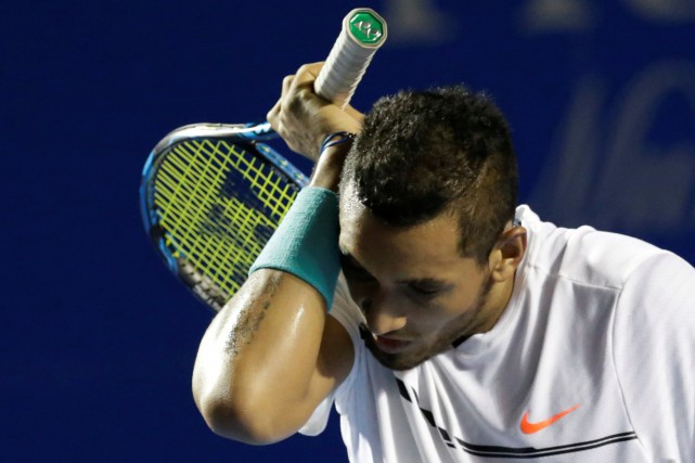 Nick Kyrgios... (PHOTO Henry Romero, ARCHIVES REUTERS)