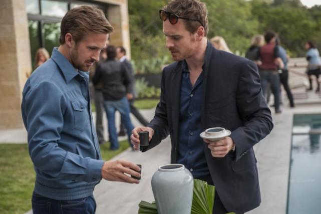 Ryan Gosling et Michael Fassbender dans Song to... (Photo fournie par les Films Séville)