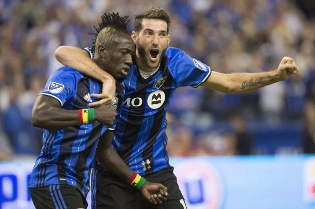 Les joueurs de l'Impact rencontreront les joueursdu New... (Photo Paul Chiasson, La Presse canadienne)