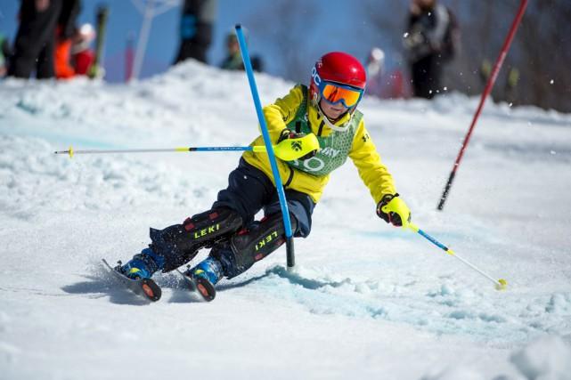 Le skieur Charl-Robèr Lisé-Coderre : quand on vous... (Fournie)