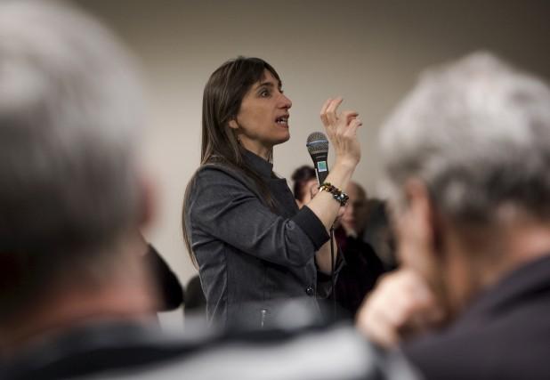 Myrabelle Chicoine, responsable de l'initiative.... (François Gervais)