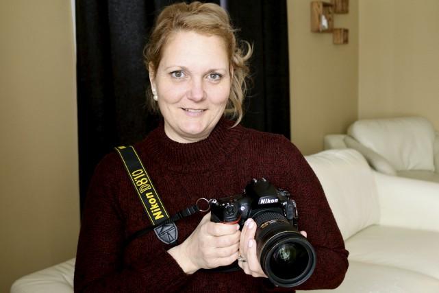 La photographe latuquoise Caroline Bérubé.... (Audrey Tremblay)